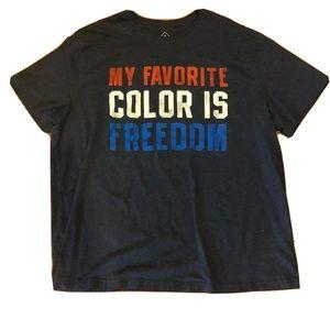 American Red White Blue T Shirt Sz 4XL